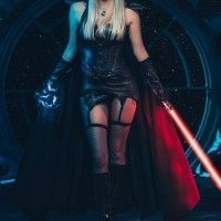 Cosplay sexy star wars