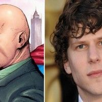 Jesse Eisenberg interprétera Lex Luthor dans Superman vs Batman. Le film sortira en france le 27 avril 2016.
