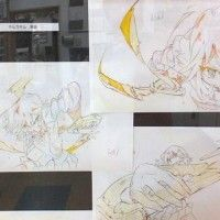 Dessins Kill La Kill à l'expo d'Osaka