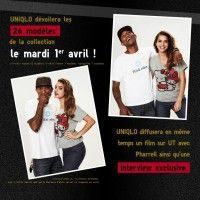 le 1er Avril PHARELL WILLIAMS et UNIQLO vous dévoileront la collection I AM OTHER