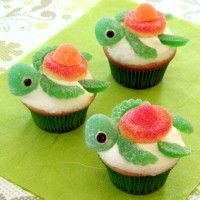 Tortues cupcakes