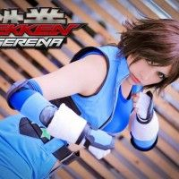 Jolie cosplayer de Tekken.