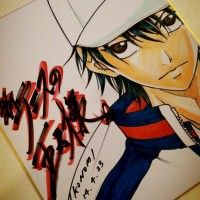 Shikishi Prince of Tennis http://www.tvhland.com/boutique/the-prince-of-tennis-takeshi-konomi/materiel-1845.html