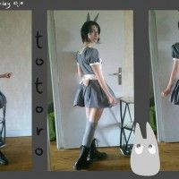 #Charmante #cosplayeuse #Totoro