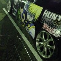 #Itasha voiture japonaise customisé Hunter x Hunter