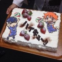 Gâteau des As du volley #Haikyu