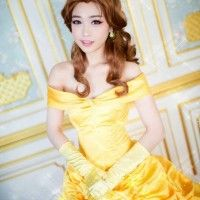 Version asiatique de #Belle #Cosplay #laBelleEtLaBête