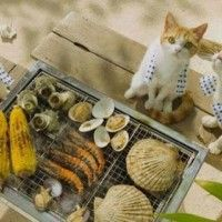 Barbecue entre animaux