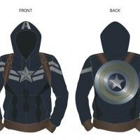 Trop cool le sweat à capuche #CaptainAmerica