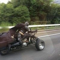 Un fan de #Batman sur les routes japonaises!
