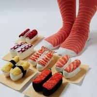 Chaussettes #Sushi