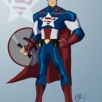 Mashup #Superman et #CaptainAmerica