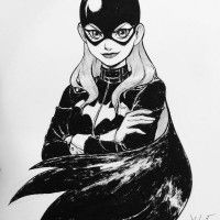 Bat girl par Kelly Kao