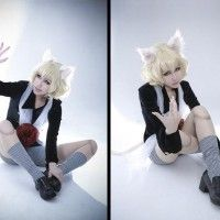 Sublime #Cosplay de #Pitou! #HunterXHunter