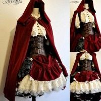costume du petit chaperon rouge version steampunk