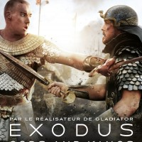 Affiche EXODUS GODS AND KINGS avec Christian Bale et Joel Edgerton.