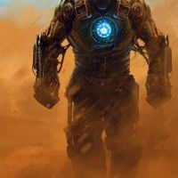 Iron Man en version Steampunk par Nagy Norbert
