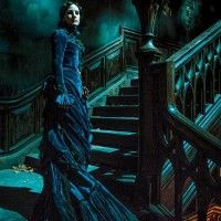 Photo de Jessica Chastain dans #CrimsonPeak de Guillermo Del Toro