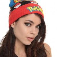 Un bonnet #Pokemon pour affronter le froid