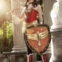 #Cosplay de #WonderWoman