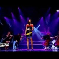 Jenifer a chanté L'Air Du Vent (Pocahantas) dans The Voice hier