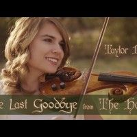 #TaylorDavis interprète The #Hobbit: The Last Goodbye  au violon