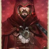 assassin's creed version saint valentin. C'est un killer d'amour