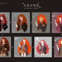 Dessins Hermione Harry Potter