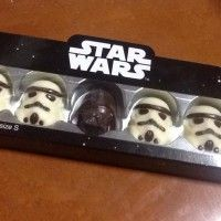 La force obscure on va en faire une bouchée !! chocolat #StarWars