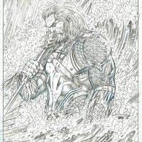 #Dessin Jason Momoa #Aquaman par Paul Pelletier