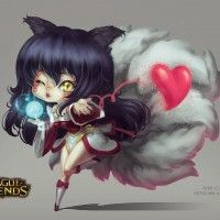 #Dessin Ahri #LeagueOfLegends par David Pan