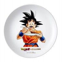 Assiette Son Goku pour la promo du film Dragon Ball Z: Resurrection F chez Curry House CoCo
