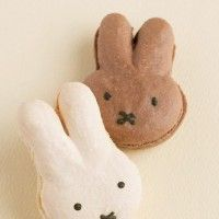 Des macarons lapins Miffy