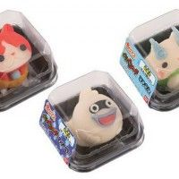#Pâtisseries #YoukaiWatch #JapaneseSweets #Jibanyan #Whisper #Coma Yo-Kai Watch #Level5 #JeuVidéo #Gastronomie