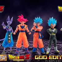 #Figurines #DragonBallZ Resurrection F Battle Of Gods #SonGoku #Vegeta #Freezer #Goodie
