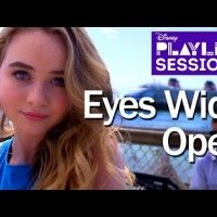 #SabrinaCarpenter | Eyes Wide Open | Disney Playlist Sessions