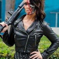 #Cosplay #Terminator. I'll be back!