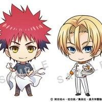 Les personnages de #FoodWars version SD #ShunSaeki