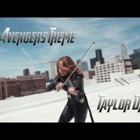 The #Avengers Theme - #TaylorDavis (Violin) #Musique #Violoniste