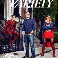 #Flash et #Supergirl en couv de Variety!