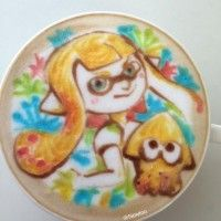 Café Latte Art #Splatoon