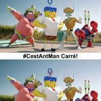 Les vrais paroles de #BobLeponge: #CestAntman @disneyfr