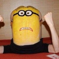 Cosplay si minion que ca!