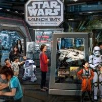 Futur #Attraction #StarWars à disneyland Shangai
