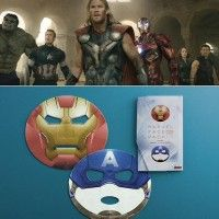 Masque de beauté #IronMan et Captain America Marvel