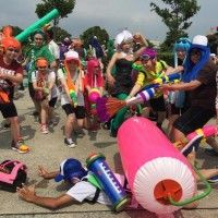Cosplay Splatoon au comiket
