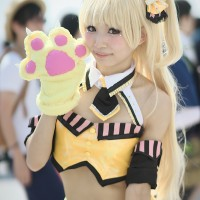 #Cosplay fille #Chat au comiket #Manga #évènement