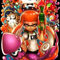 Fan art de Splatoon de Ry-Spirit's Art