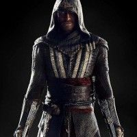 Michael Fassbender en costume d'#AssassinSCreed
