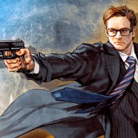 #Dessin #Fan#Art Harry H#Art #KingsmanServicesSecrets